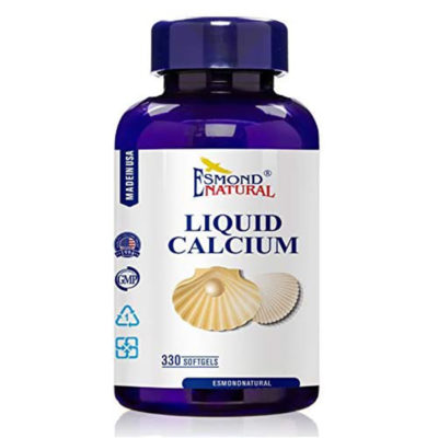 Esmond Natural Liquid Calcium Plus D3 – 330 softgels